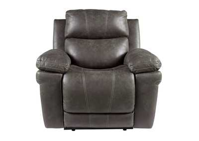Image for Erlangen Midnight Power Recliner w/Adjustable Headrest