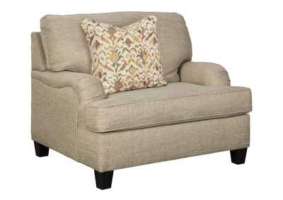 Image for Almanza Wheat Oversized Chair