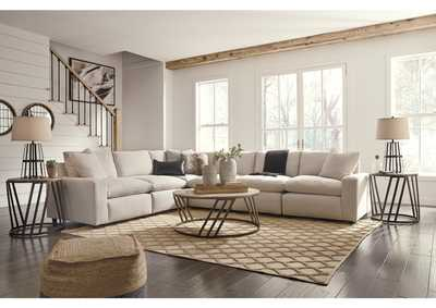 Savesto Ivory 6 Piece Sectional