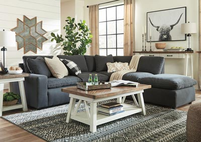 Image for Savesto Charcoal 5 Piece Sectional