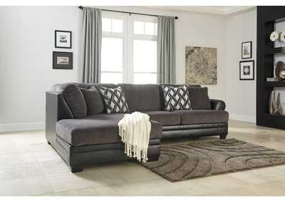Image for Kumasi Smoke LAF Chaise Sectional