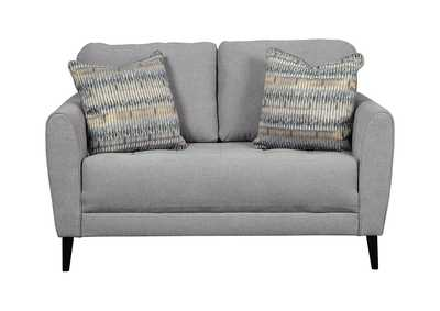 Image for Cardello Steel Loveseat