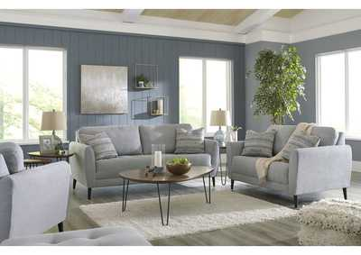Image for Cardello Steel Sofa and Loveseat