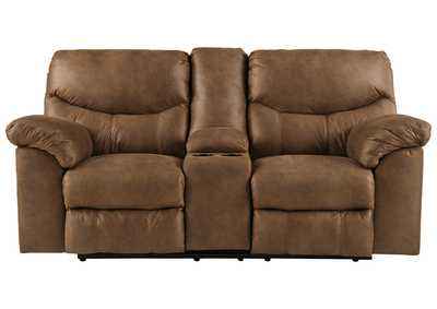 Image for Boxberg Bark Double Power Reclining Loveseat w/Console
