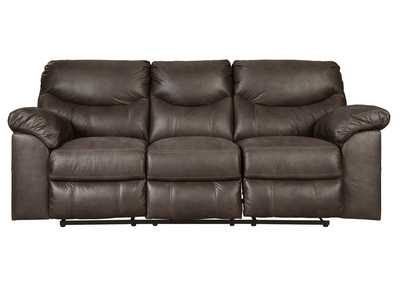 Image for Boxberg Teak Reclining Power Sofa