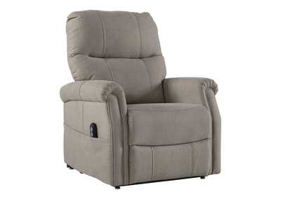 Image for Markridge Gray Power Lift Recliner