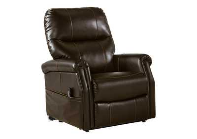 Image for Markridge Chocolate Power Lift Recliner