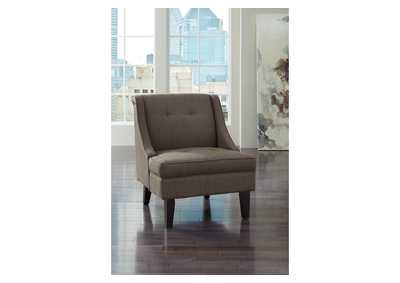 Clarinda Gray Accent Chair,Signature Design By Ashley