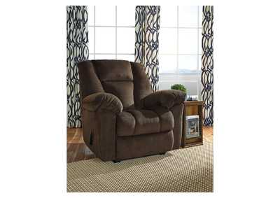 Image for Nimmons Chocolate Zero Wall Recliner