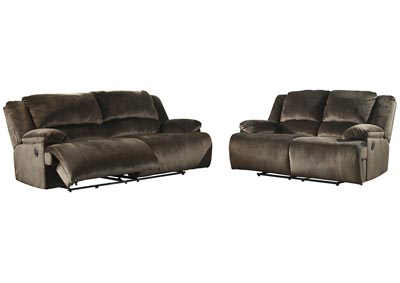Clonmel Reclining Sofa and Loveseat