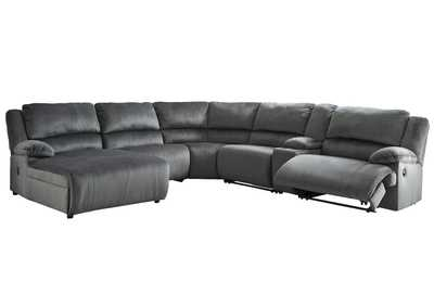 Image for Clonmel 6 Piece Reclining Sectional with Chaise