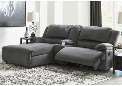 Clonmel 3 Piece Reclining Sectional with Chaise,Signature Design By Ashley