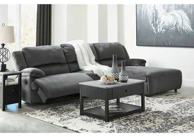 Clonmel 3 Piece Power Reclining Sectional with Chaise