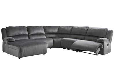 Clonmel 5 Piece Power Reclining Sectional with Chaise
