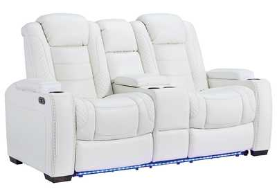 Image for Party Time Power Reclining Loveseat with Console