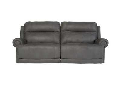 Image for Austere Gray 2 Seat Reclining Power Sofa