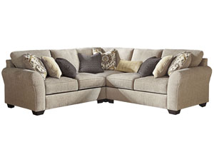 Pantomine Driftwood 3 Piece Sectional