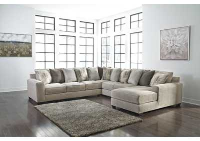 Ardsley 4-Piece Sectional with Chaise,Benchcraft