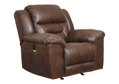Image for Stoneland Chocolate Power Recliner