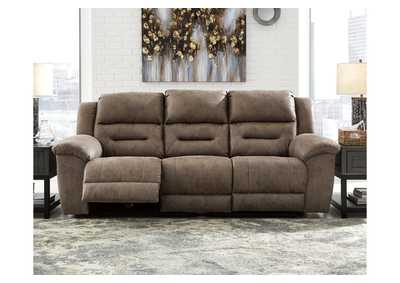 Image for Stoneland Gray Power Reclining Sofa