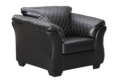 Bertrillo Black Chair