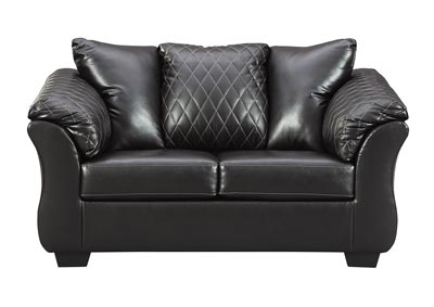 Bertrillo Black Loveseat