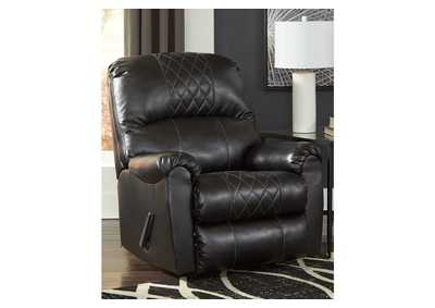 Betrillo Black Recliner