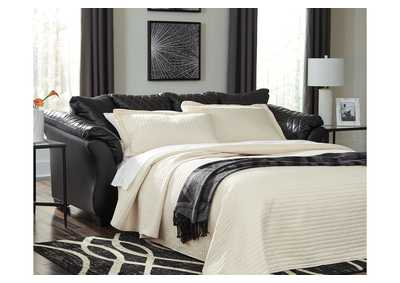 Image for Betrillo Black Full Sofa Sleeper