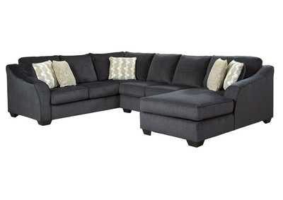 Image for Eltmann Slate 3-Piece Sectional with Chaise
