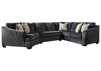 Image for Eltmann Slate 3-Piece Sectional with Cuddler