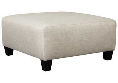 Hallenberg Fog Oversized Accent Ottoman,Signature Design By Ashley