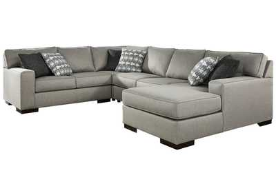 Image for Marsing Nuvella 4-Piece Sectional with Chaise