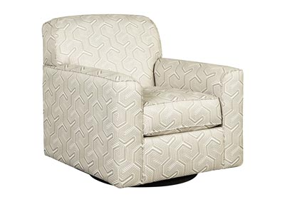 Daylon Graphite Swivel Accent Chair,Benchcraft