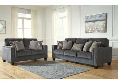 Gavril Smoke Sofa & Loveseat,Signature Design By Ashley
