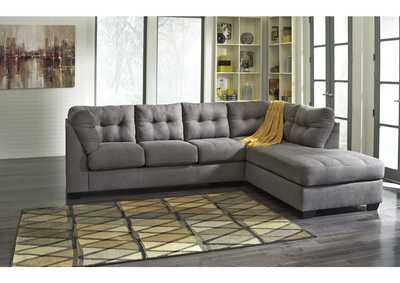 Image for Maier Charcoal Right Arm Facing Chaise End Sectional