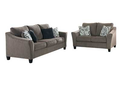 Image for Nemoli Slate Sofa & Loveseat