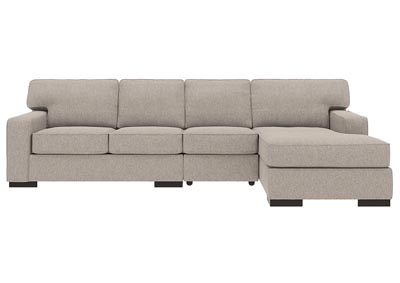 Ashlor Nuvella Slate RAF 3 Piece Chaise Sectional