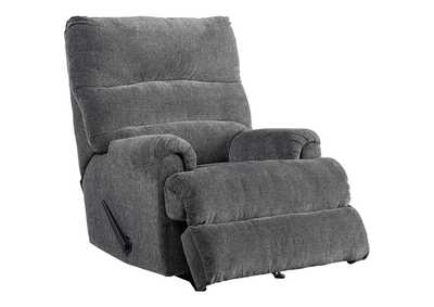 Image for Man Fort Graphite Recliner