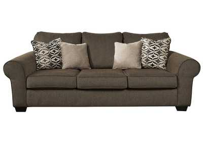 Nesso Walnut Queen Sofa Sleeper