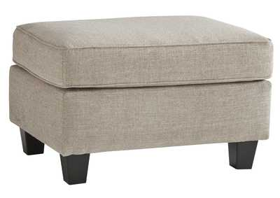 Image for Abney Gray Ottoman