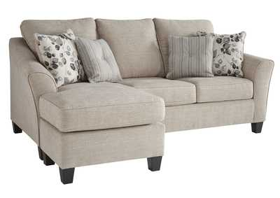 Image for Abney Gray Sofa Chaise Sleeper