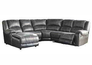 Image for Nantahala Slate LAF Corner Chaise Sectional