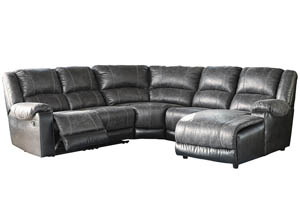 Image for Nantahala Slate RAF Corner Chaise Sectional