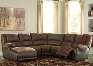 Image for Nantahala Coffee LAF Corner Chaise Sectional