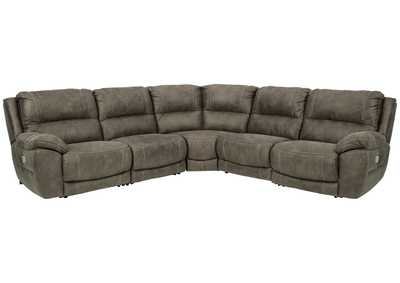 Image for Cranedall 5-Piece Power Reclining Sectional