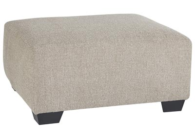 Image for Baranello Stone Oversized Accent Ottoman