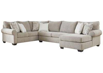 Baranello Stone RAF Chaise End Sectional