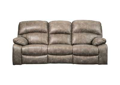 Image for Dunwell Driftwood Power Recliner Sofa w/Adjustable Headrest