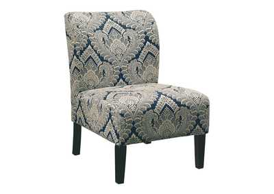 Honnally Blue Accent Chair,Direct To Consumer Express