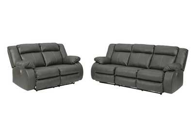 Image for Denoron Power Reclining Sofa and Loveseat
